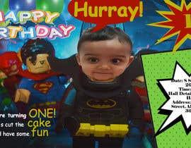 #28 для I need an inviation card design for my son's first Birthday от trishitaaust