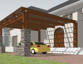 #20 for House entrance Porch  architectural design by ujenzi