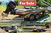 """Poster Design Entri Peraduan #12 for need poster today for selling boat """" used boat """" need inspiration"""