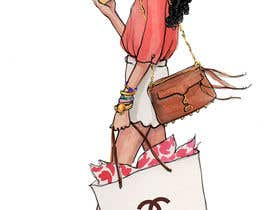 "#9 for Change title of book to ""Budget Friendly Luxury""  Change logo on bag to Chanel Change girls hair to curly by alighouri01"