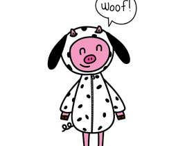#1 for pig in dog costume by monaabiwarde