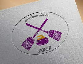 #21 for Create a curling memorial logo by harshit1chauhan