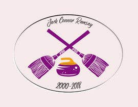 #26 for Create a curling memorial logo by harshit1chauhan