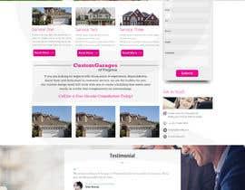 nº 4 pour Create a Wordpress Template for CustomGaragesofVirginia.com par thegraphicaa