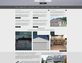 nº 3 pour Create a Wordpress Template for CustomGaragesofVirginia.com par cromasolutions