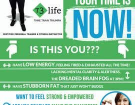 #74 cho Flyer for Personal Trainer bởi TUKU22