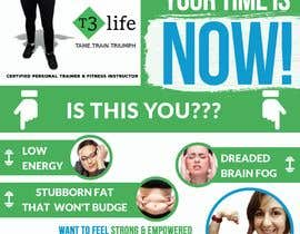 #77 cho Flyer for Personal Trainer bởi TUKU22