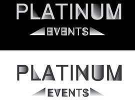 #36 for Design a logo for Platinum Events af ElenaMal