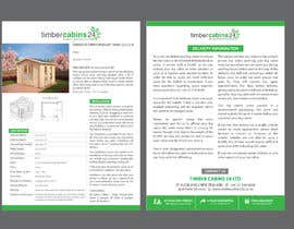 #20 for Brochure design double page af chowagraphics