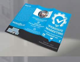 Nro 35 kilpailuun Trifold Brochure for SEO Company käyttäjältä tanveerhridoy566