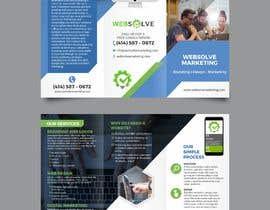Nro 51 kilpailuun Trifold Brochure for SEO Company käyttäjältä annumunjal