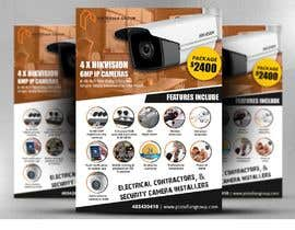 #39 for Create a Flyer for CCTV installations by satishandsurabhi
