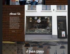 nº 43 pour Home page mockup par winniefernandez