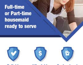 """#5 for create flyer for """"Housemaid"""" services by mohamedibrahim3"""