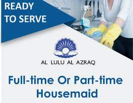 """#20 for create flyer for """"Housemaid"""" services by MMdarwesh"""