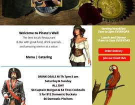 """Nro 7 kilpailuun Design a WordPress Mockup with a """"PIRATE"""" theme käyttäjältä Bostondesignz"""