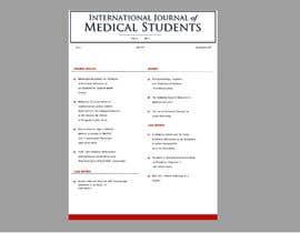 #7 para Design a cover for a journal por hbasuru