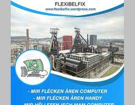 #23 for EASY AND SIMPLE MONEY: Make an A6 flyer for Flexibelfix by maidang34