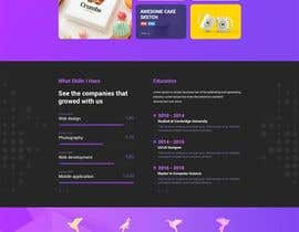 #8 for Creation of 4 Landing page based on template AmpleAdmin af mahabub27