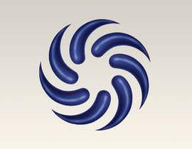 #26 for Make my attached logo 3D. I want them to be like teardrop shape. Color i want blue chrome look. by peshan