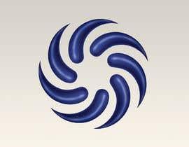 peshan tarafından Make my attached logo 3D. I want them to be like teardrop shape. Color i want blue chrome look. için no 26