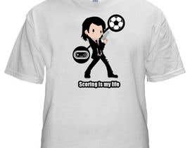 #111 cho Gaming and scoring theme t-shirt design wanted bởi hilalgd