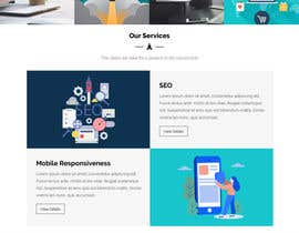 #7 for Website Mockup design a specific page by ayan1986