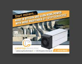#92 for Newspaper Advertisement Banner - Cryptomining by karimulgraphic