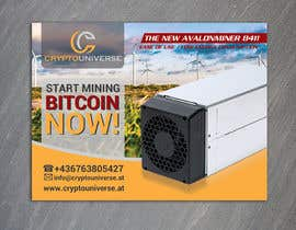 #61 for Newspaper Advertisement Banner - Cryptomining by gkhaus