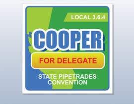 #7 para Campaign sticker por Legatus58