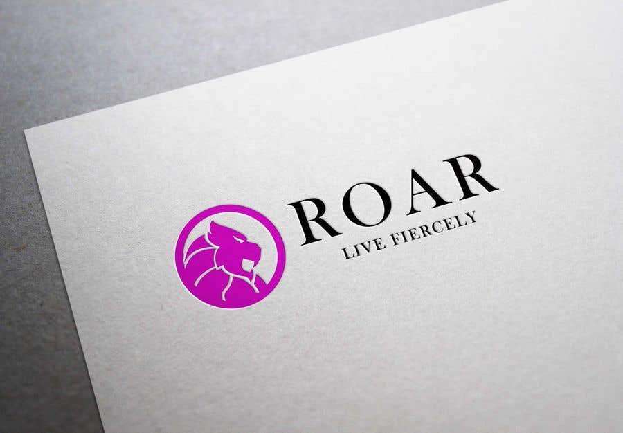 Inscrição nº 110 do Concurso para ROAR - Girl power logo!