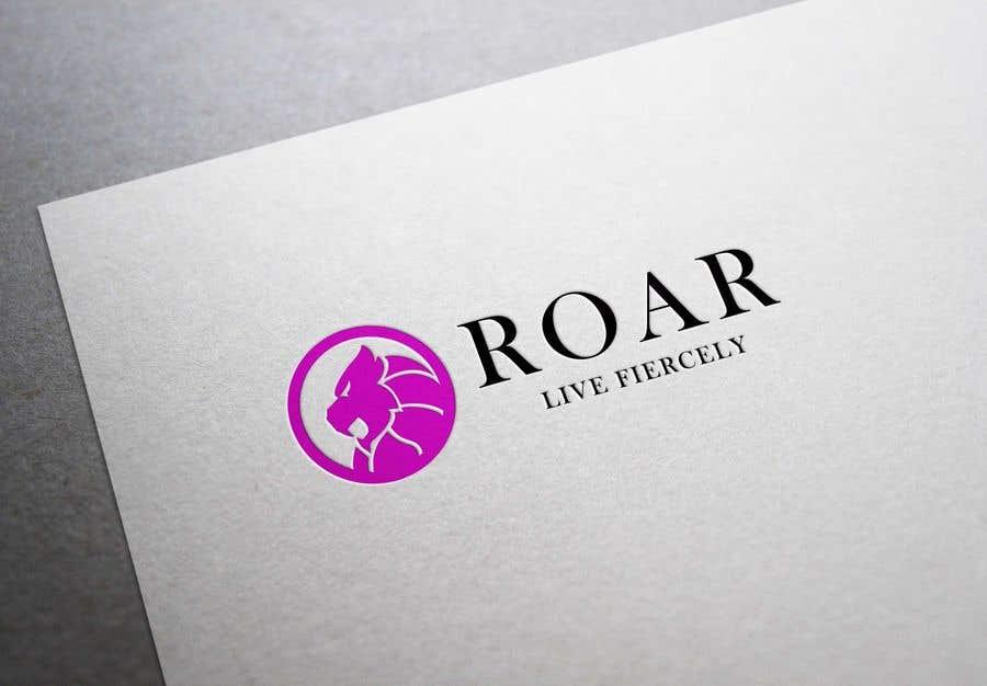Inscrição nº 112 do Concurso para ROAR - Girl power logo!