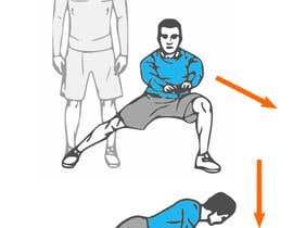 nº 4 pour Fitness Illustration par mahidevran
