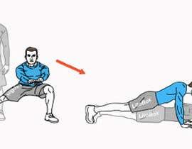 nº 6 pour Fitness Illustration par Mihai1000