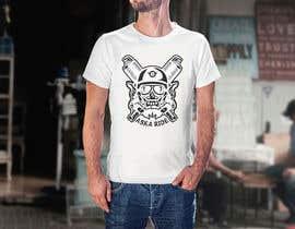 nº 93 pour Graphic sign for illustration tee shirt // logo // advertising brand par CarleDesign27