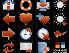 #22 for Icon or Button Design for I4 Web Browser Icons af marsalank