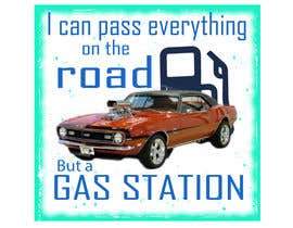 #10 for I Can Pass Everything But A Gas Station Tee Shirt by Newjoyet