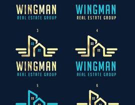 """#413 pentru Logo Design for """"Real Estate Wingman"""" de către designblast001"""