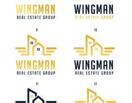 """#414 pentru Logo Design for """"Real Estate Wingman"""" de către designblast001"""
