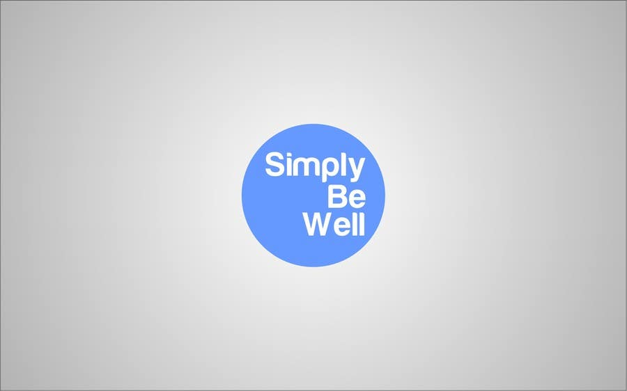 """Penyertaan Peraduan #52 untuk Logo Design for Corporate Wellness Business called """"Simply Be Well"""""""
