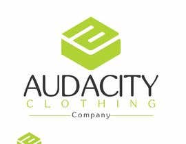 #7 for My brand is called AUDACITY CLOTHING CO this is a logo i already have create me something that uses this logo and font by designgale
