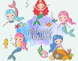 #11 para Mermaid for children's party theme, commercial use de rklac