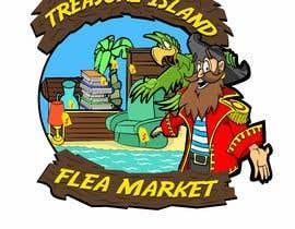 Nro 65 kilpailuun Create a Mascot and logo for indoor flea market Treasure island Flea Market käyttäjältä ToaMota
