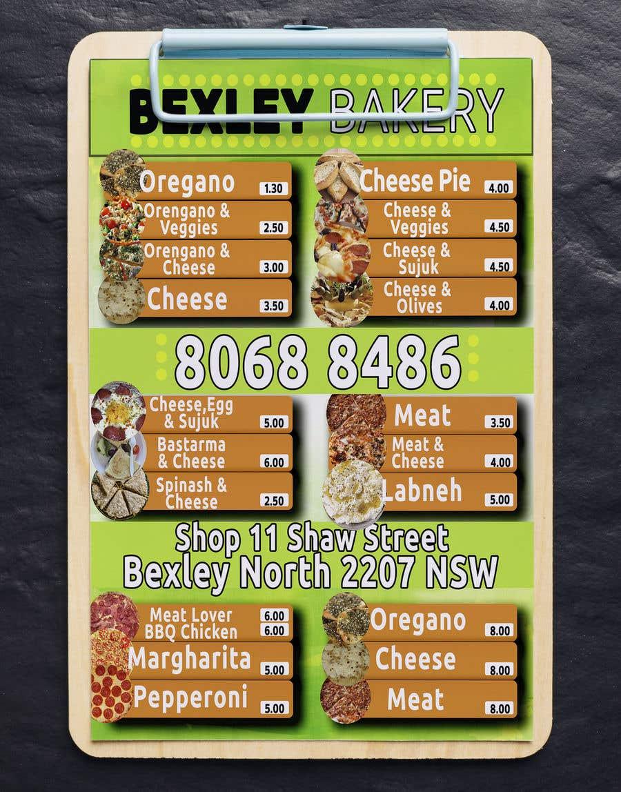 Bài tham dự cuộc thi #18 cho Food Menu Flyer & Business Card