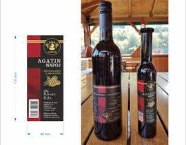 #45 pёr Design a label for Blackberry wine nga romanpetsa