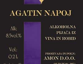 #40 pёr Design a label for Blackberry wine nga nikoL08