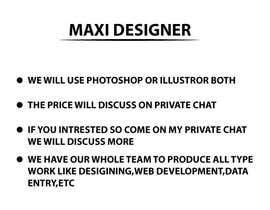 #3 pentru I need some Graphic Design de către maxidesigner29