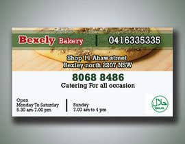 #64 untuk Create a simple business card (one side) oleh Graphicali07