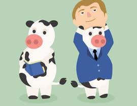 #8 untuk Funny Illustrations - 2cows oleh suerokevin