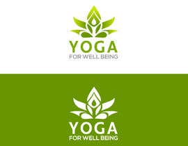 nº 242 pour Yoga for well being Logo Design par GraphicEarth